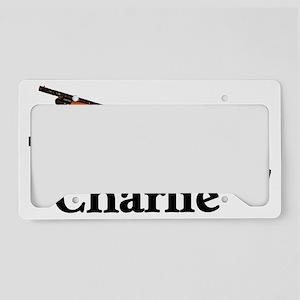 team-charlie License Plate Holder