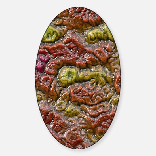 Bad meat Sticker (Oval)
