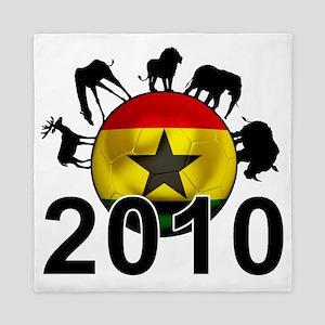 Ghana Football2 Queen Duvet