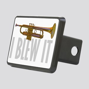 trumpetBlewItDark Rectangular Hitch Cover