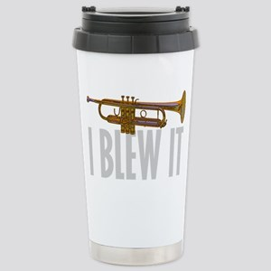 trumpetBlewItDark Stainless Steel Travel Mug