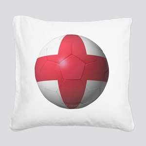 England Soccer 2010 Square Canvas Pillow