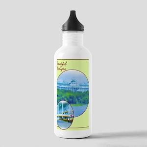2-Beautiful MacHotel_C Stainless Water Bottle 1.0L