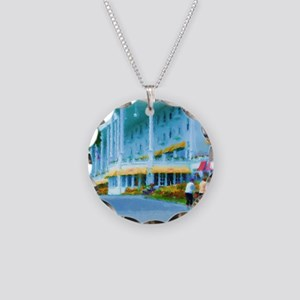 Mac Hotel Side-water Sq Necklace Circle Charm
