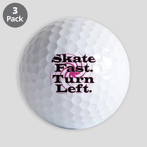 10x10apparel_skatefastturnleft Golf Balls