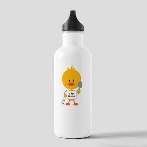 GardeningChickDkT Stainless Water Bottle 1.0L