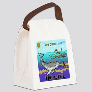 Mutant Tarwhal Canvas Lunch Bag