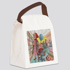 supermarket Canvas Lunch Bag