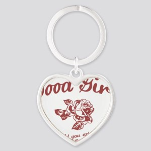 good-girl-LTT Heart Keychain