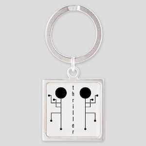 Thriller Square Keychain