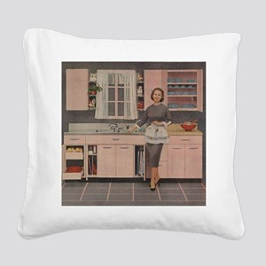 pinkkitch Square Canvas Pillow