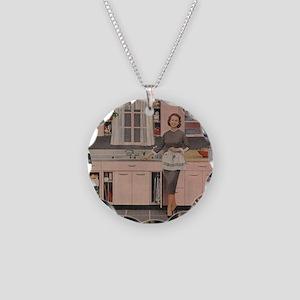 pinkkitch Necklace Circle Charm