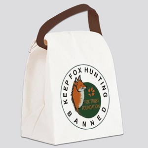 KFHB Fox Trust Foundation Canvas Lunch Bag