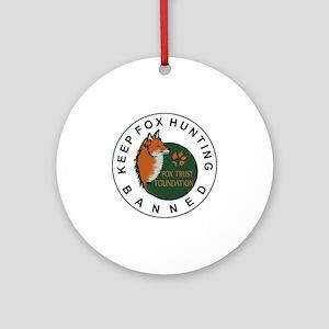 KFHB Fox Trust Foundation Round Ornament