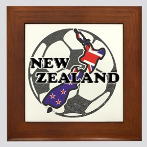 new-zealand-soccer Framed Tile