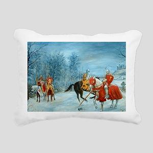a percival whole Rectangular Canvas Pillow