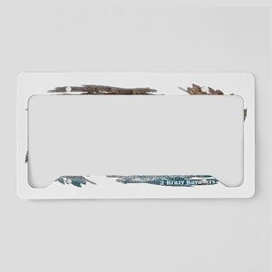 STUCKONKAYAKING3 License Plate Holder