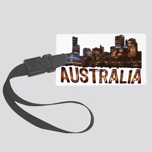 australia Large Luggage Tag