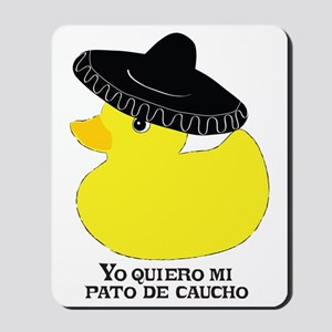 rubberducky_mexican_color_round Mousepad