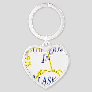 Alaska - Gettin Down Heart Keychain