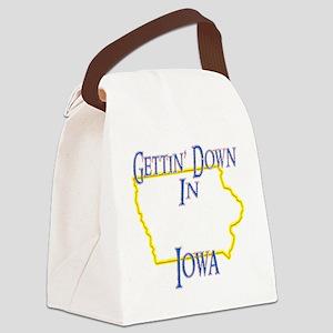 Iowa - Gettin Down Canvas Lunch Bag