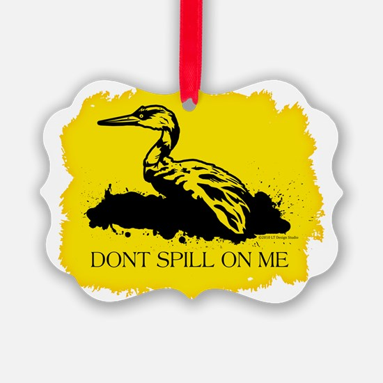 dont spill yellow for cp Ornament
