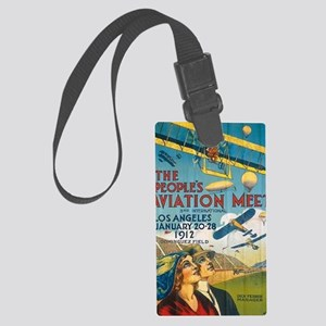 pixPIO-15Poster Large Luggage Tag