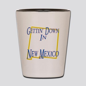 New Mexico - Gettin Down Shot Glass