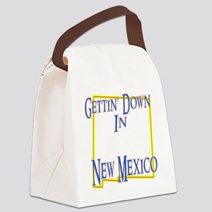 New Mexico - Gettin Down Canvas Lunch Bag