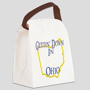 Ohio - Gettin Down Canvas Lunch Bag