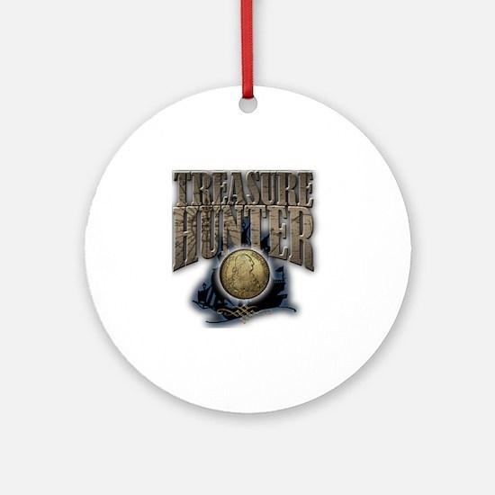 Treasure Hunter2 Round Ornament