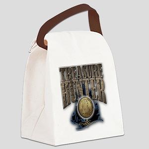 Treasure Hunter2 Canvas Lunch Bag