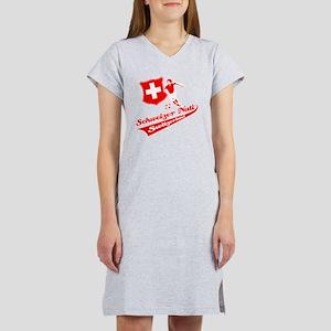 soccer player designs Women's Nightshirt