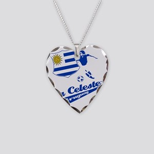 soccer player designs Necklace Heart Charm