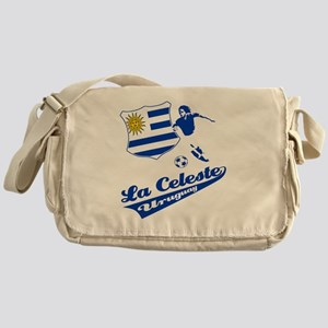 soccer player designs Messenger Bag