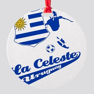 soccer player designs Round Ornament
