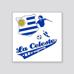 "soccer player designs Square Sticker 3"" x 3"""