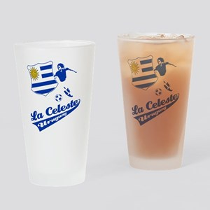 soccer player designs Drinking Glass