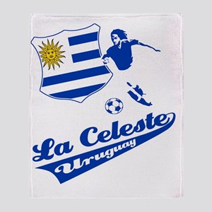 soccer player designs Throw Blanket