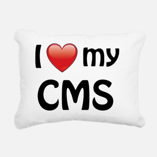 i-heart-cms-01 Rectangular Canvas Pillow