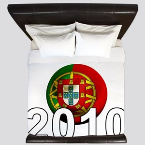 Portugal Football2Bk King Duvet