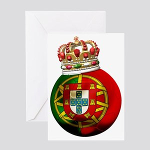 Portugal Football7 Greeting Card