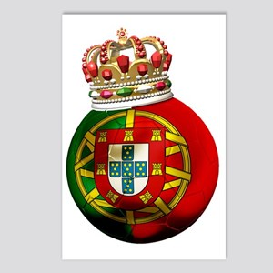 Portugal Football7 Postcards (Package of 8)