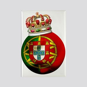 Portugal Football7 Rectangle Magnet