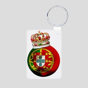Portugal Football7 Aluminum Photo Keychain