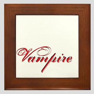 likeavampire2 Framed Tile