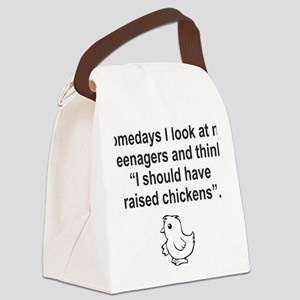 Chicken for White5 Canvas Lunch Bag