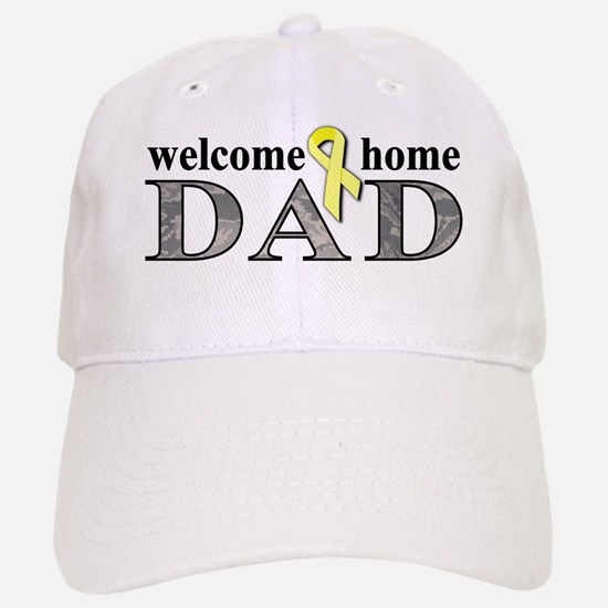 ABU Welcome Home Dad Baseball Baseball Cap