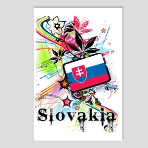 flowerSlovakia1 Postcards (Package of 8)