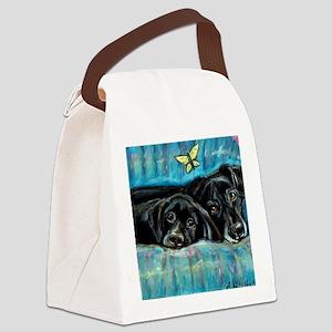 paintingdeniserevised Canvas Lunch Bag